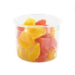 Salade orange et grapefruit...