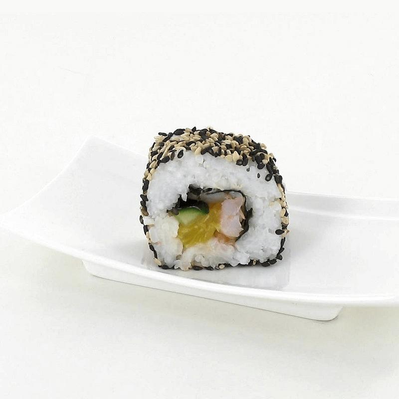 Maki Ebi (crevette) inversé 2 sésames