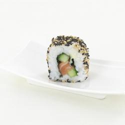 Maki saumon inversé 2 sésames
