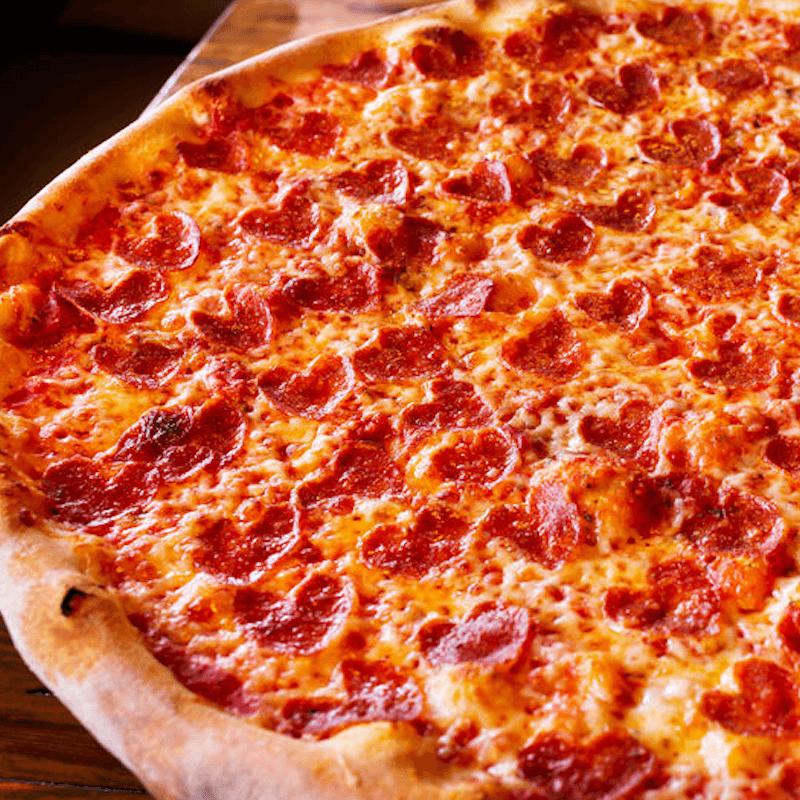 Pizzas chorizo XL