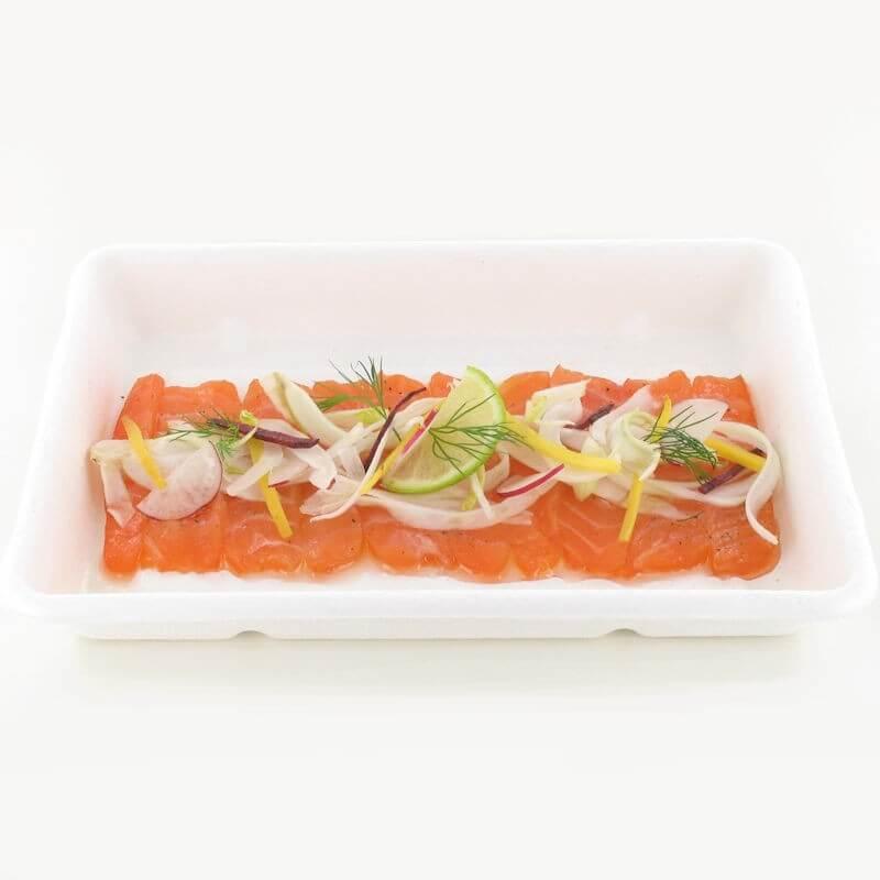 Carapccio saumon